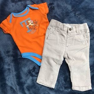 Other - Disney Tigger Onesie With Corduroy Pants 3-6M